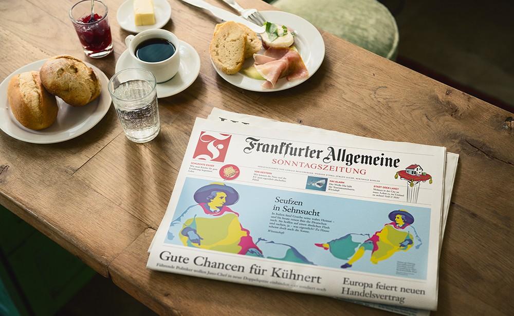 Titelbild der Frankfurter Allgemeinen Sonntagszeitung am 30. Juni 2019, © Frankfurter Allgemeine Zeitung GmbH