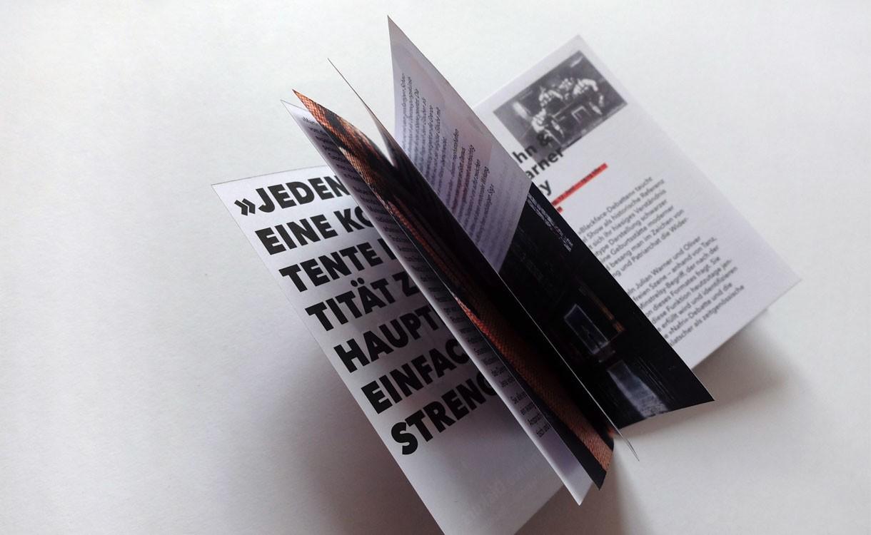 Martin Luther Propagandasymposium · Programmheft
