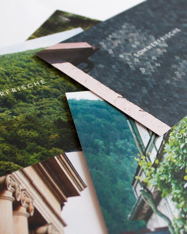 Sommerfrische Schwarzatal · Postkarten
