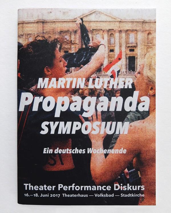 Martin Luther Propagandasymposium · Titel nach Boris Nikitin