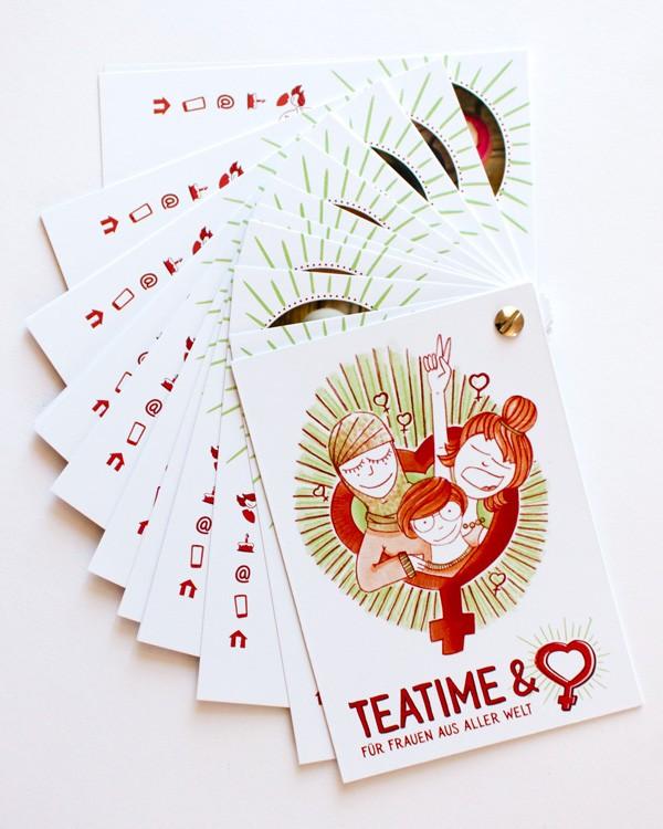 Teatime & Heart · Kontaktbuch