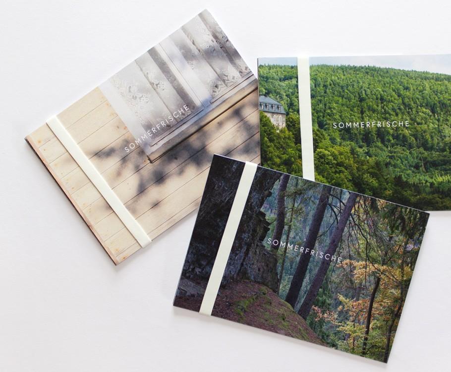 Sommerfrische Schwarzatal · Kartenset