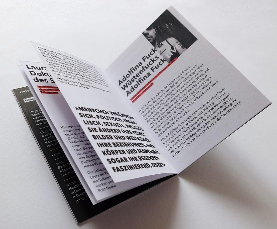 Martin Luther Propagandasymposium · Lecture Performance bis Soundkunst von Adolfina Fuck & Wüstenfucks