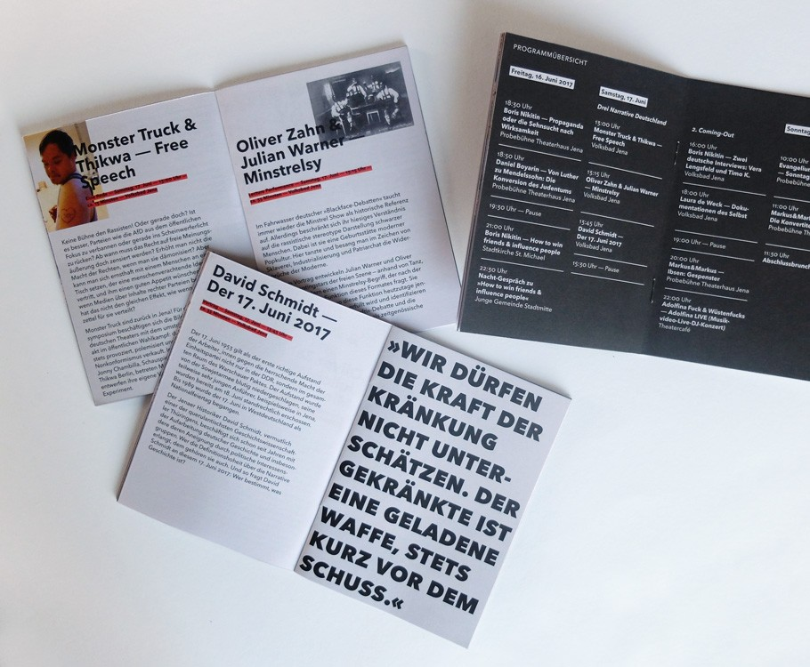 Martin Luther Propagandasymposium · Inklusives Theater Thikwa Berlin bis Ready-made