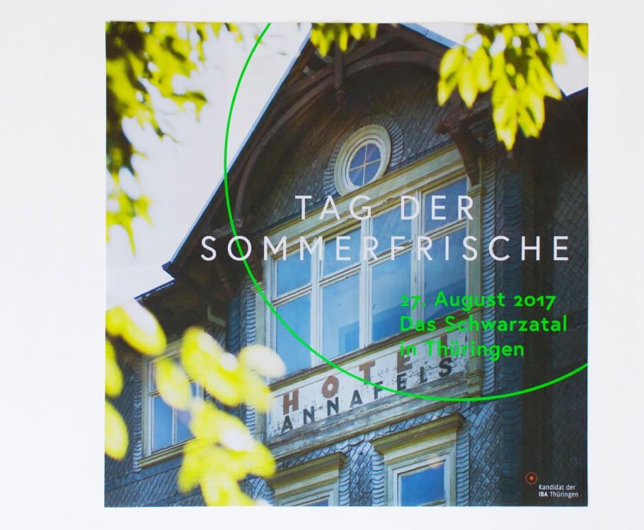 Tag der Sommerfrische · Plakat