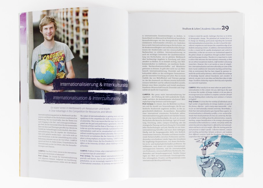 Campus-Magazin · Weltkugel