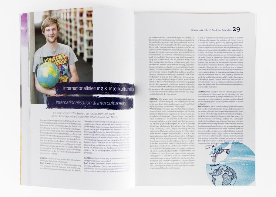 Campus-Magazin · Weltkugel