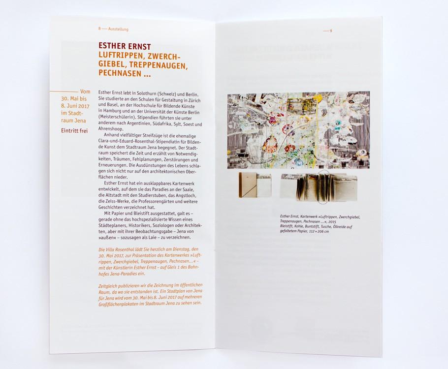 Villa Rosenthal Jena · Ausstellung