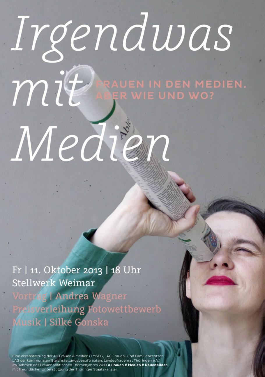 Irgendwas mit Medien ·Plakat
