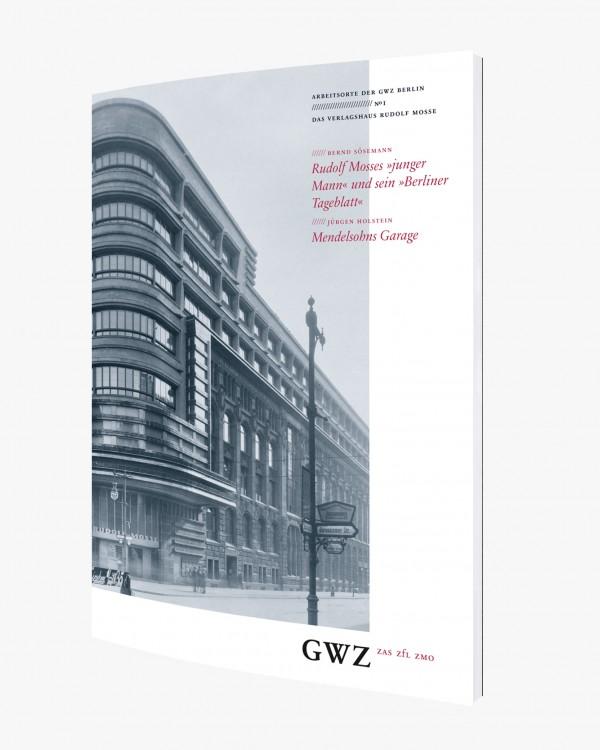 GWZ Berlin· Broschur über die Schützenstraße