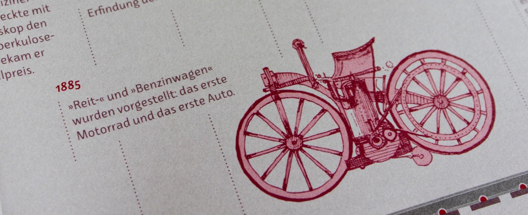 Klapphans Nr. 4 · Detail der Posterseite