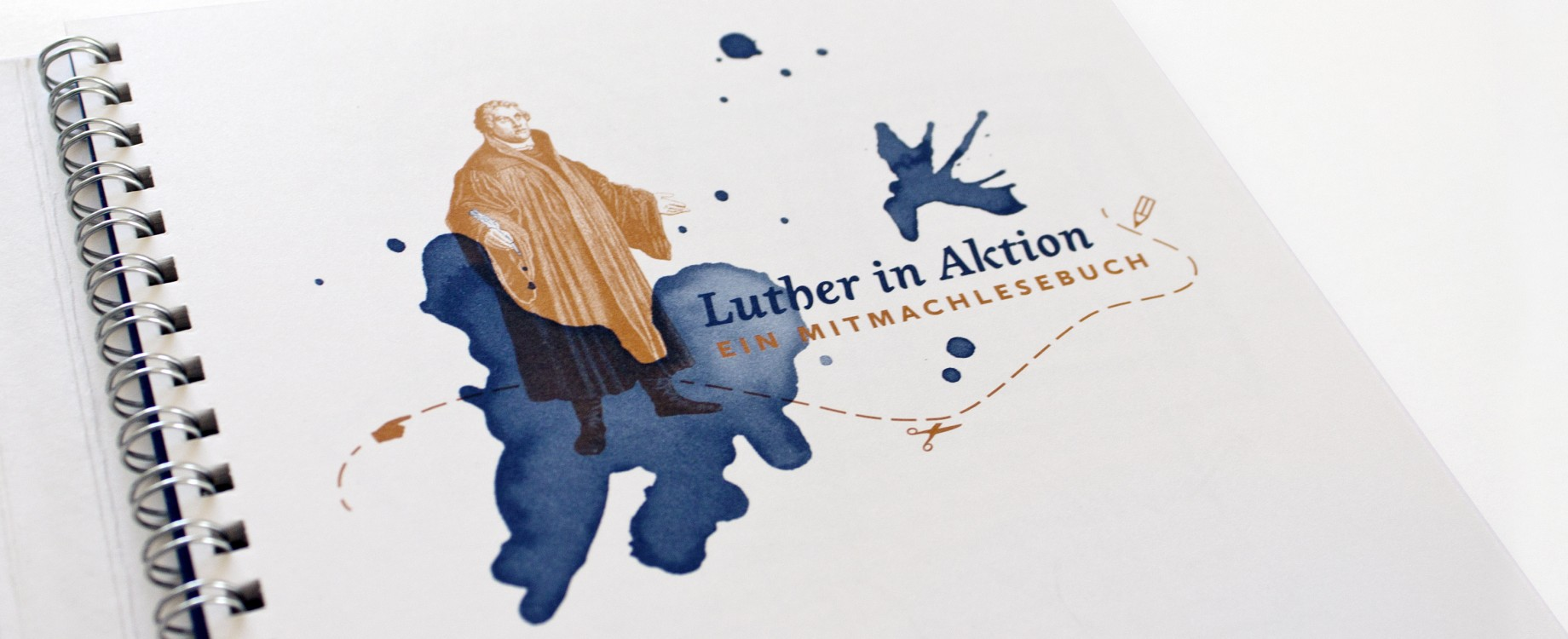 Luther in Aktion · Titel